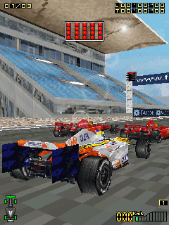 Download free mobile game: Formula Racing 3D - download free games for mobile phone.