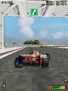 Download free game for mobile phone: Formula Racing 3D - download mobile games for free.