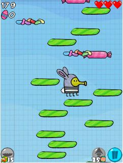 Download free game for mobile phone: Doodle Jump: Easter - download mobile games for free.