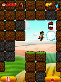 Download free mobile game: Aero Monkey - download free games for mobile phone.
