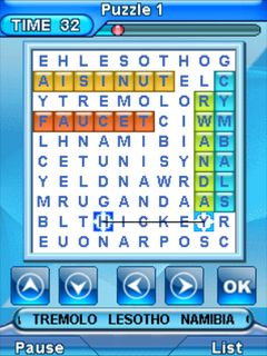 Download free mobile game: Word hunt 3 - download free games for mobile phone.