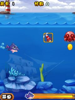 Download free mobile game: Love of the ocean: Crazy dolphins - download free games for mobile phone.