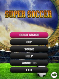 Download free mobile game: Super soccer - download free games for mobile phone.