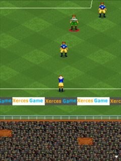 Jeu mobile Super football - captures d'écran. Gameplay Super soccer.