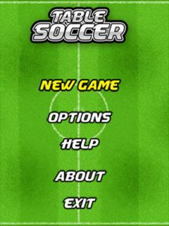 Download free mobile game: Table soccer - download free games for mobile phone.