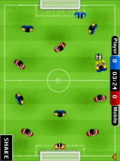 Download free game for mobile phone: Table soccer - download mobile games for free.
