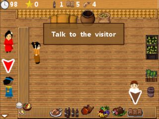 Jeu mobile Cuisine rapide en Java - captures d'écran. Gameplay Cooking express Java.
