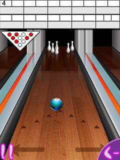 Download free mobile game: Bowling compete - download free games for mobile phone.