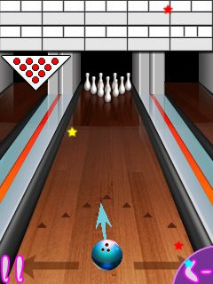 Download free game for mobile phone: Bowling compete - download mobile games for free.
