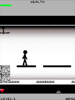 Mobile game Stickman fighter - screenshots. Gameplay Stickman fighter.