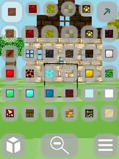 Mobile game Minecraft: Pocket edition 3D - screenshots. Gameplay Minecraft: Pocket edition 3D.