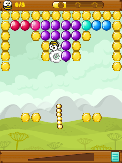 Download free mobile game: Bang-bang balloons! - download free games for mobile phone.