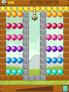 Download free game for mobile phone: Bang-bang balloons! - download mobile games for free.
