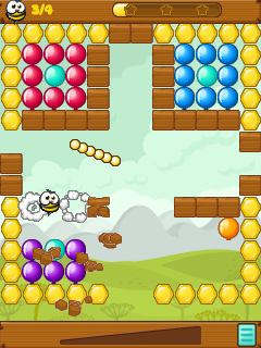 Mobile game Bang-bang balloons! - screenshots. Gameplay Bang-bang balloons!.