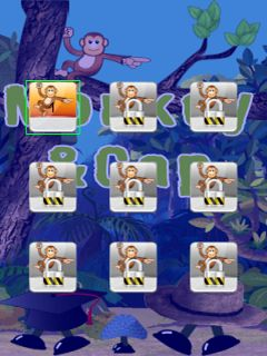 Download free mobile game: Monkey and cap - download free games for mobile phone.