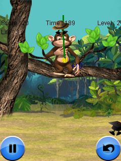 Mobile game Monkey and cap - screenshots. Gameplay Monkey and cap.