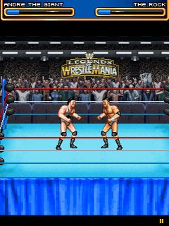 Download free mobile game: WWE Legends of WrestleMania - download free games for mobile phone.
