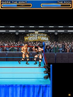Download free game for mobile phone: WWE Legends of WrestleMania - download mobile games for free.