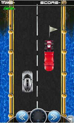 Mobile game Racing the one way - screenshots. Gameplay Racing the one way.