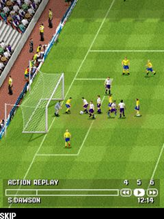 Mobile game FIFA 14 - screenshots. Gameplay FIFA 14.