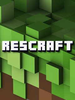 Download free ResourseCraft (Rescraft) - java game for mobile phone. Download ResourseCraft (Rescraft)