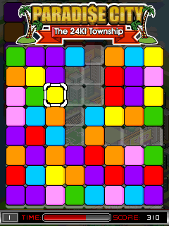 Download free game for mobile phone: Paradise city: The 24 Kt township - download mobile games for free.