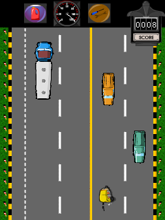 Download free mobile game: Bombay Rickshaw  Two Way Nightmare - download free games for mobile phone.