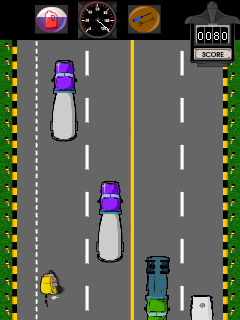 Mobile game Bombay Rickshaw  Two Way Nightmare - screenshots. Gameplay Bombay Rickshaw  Two Way Nightmare.