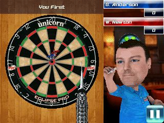 Download free game for mobile phone: PDC World championship darts 2013 - download mobile games for free.