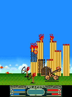 Jeu mobile Les Allumettes Guerriers - captures d'écran. Gameplay Matchstick warriors.