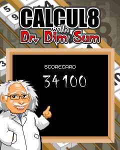 Скріншот java гри Calcul 8 With Dr. Dim Sum. Ігровий процес.