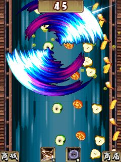 Download free game for mobile phone: The ninja jumping: Cut fruit - download mobile games for free.