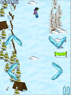 Download free game for mobile phone: Extreme snowboarding - download mobile games for free.
