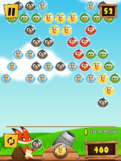 Download free mobile game: Bird shooter - download free games for mobile phone.