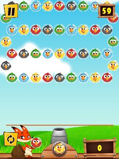 Download free game for mobile phone: Bird shooter - download mobile games for free.