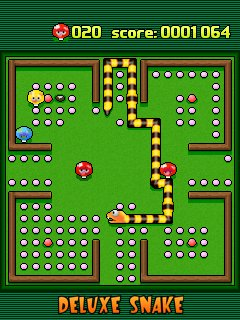 Mobil-Spiel 4 in 1: Die ultimate Schlangenkollektion - Screenshots. Spielszene 4 in 1 Ultimate snake collection.