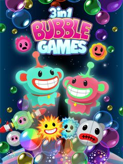 3 in 1 Bubble games