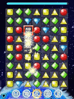 Download free mobile game: Jewels of the Zodiac - download free games for mobile phone.