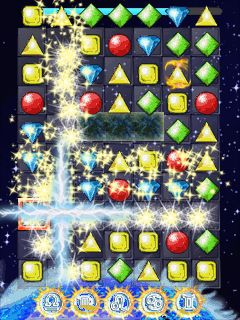 Download free game for mobile phone: Jewels of the Zodiac - download mobile games for free.