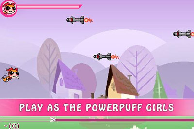 Download free mobile game: The Powerpuff girls: Robo storm - download free games for mobile phone.