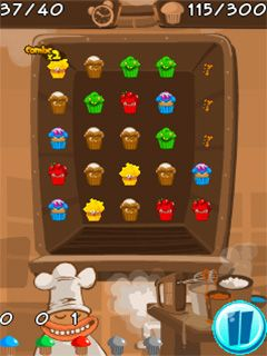 Mobile game Muffin monster match - screenshots. Gameplay Muffin monster match.