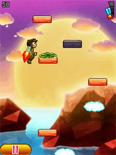 Download free game for mobile phone: Aero monkey jumping - download mobile games for free.