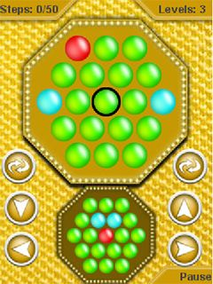 Jeu mobile La Matrice de Boules - captures d'écran. Gameplay Ball matrix.