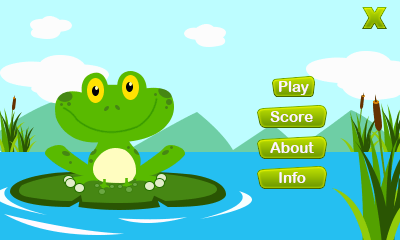 Download free mobile game: Crazy frogling - download free games for mobile phone.