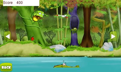 Download free game for mobile phone: Crazy frogling - download mobile games for free.