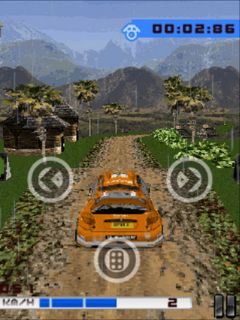 Mobile game Ultimate Rally championship 2 - screenshots. Gameplay Ultimate Rally championship 2.