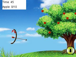 Mobile game Sherwood shooter - screenshots. Gameplay Sherwood shooter.
