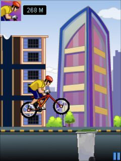 Jeu mobile Le Moto Cross BMX Max - captures d'écran. Gameplay BMX Max.