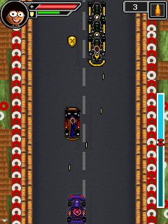 Download free game for mobile phone: Krazy kart riders - download mobile games for free.