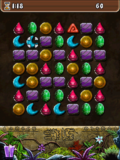 Mobile game Uncharted jewels - screenshots. Gameplay Uncharted jewels.